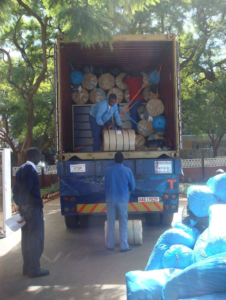 Zimbabwe 2008 - Container