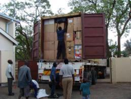 Zimbabwe 2007 - Container