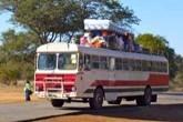 Bus, Zambia, Zimbabwe, SwiZimAid